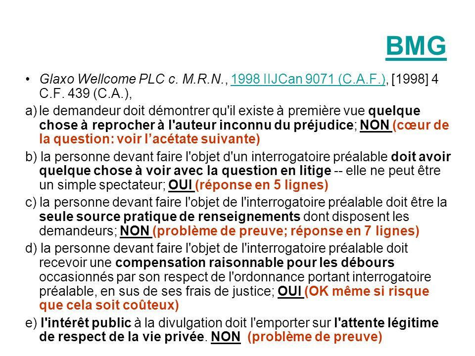 BMGGlaxo Wellcome PLC c. M.R.N., 1998 IIJCan 9071 (C.A.F.), [1998] 4 C.F. 439 (C.A.),